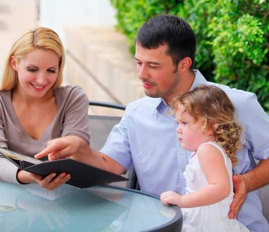 family friendly menu at chain restaurants