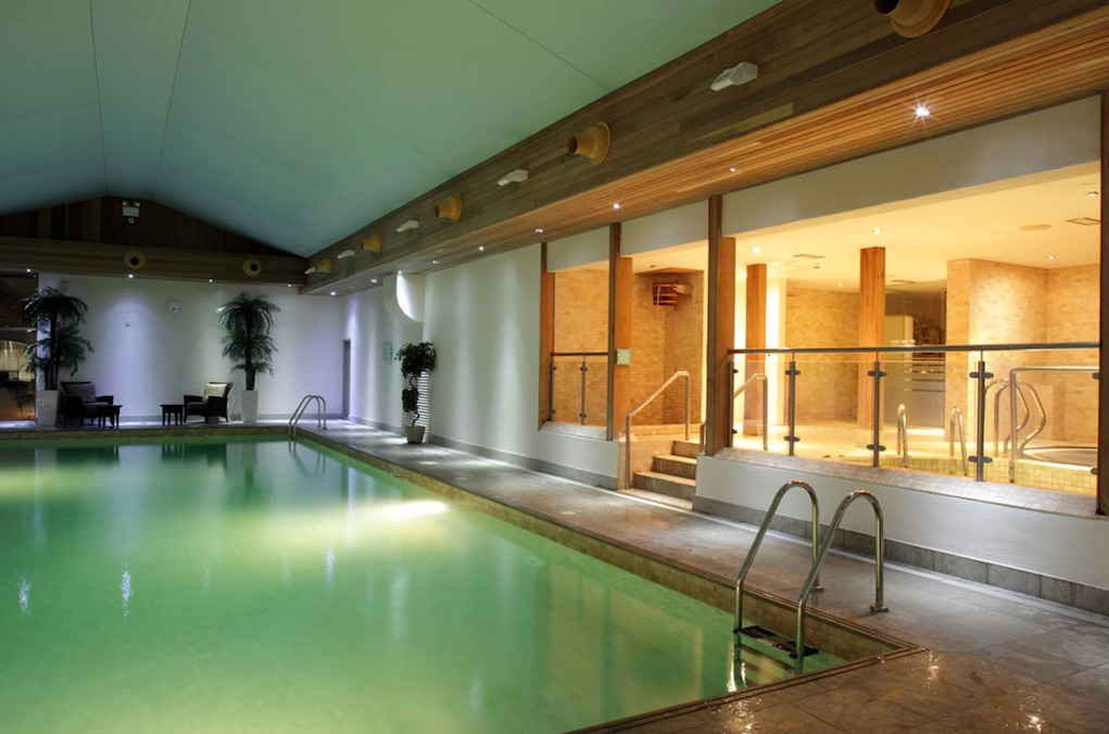 hotel pools in Kilkenny Newpark Hotel