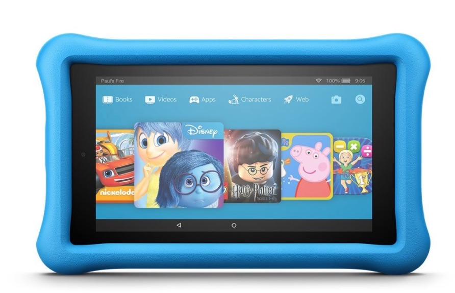 kindle fire HD 8 top tablets for kids