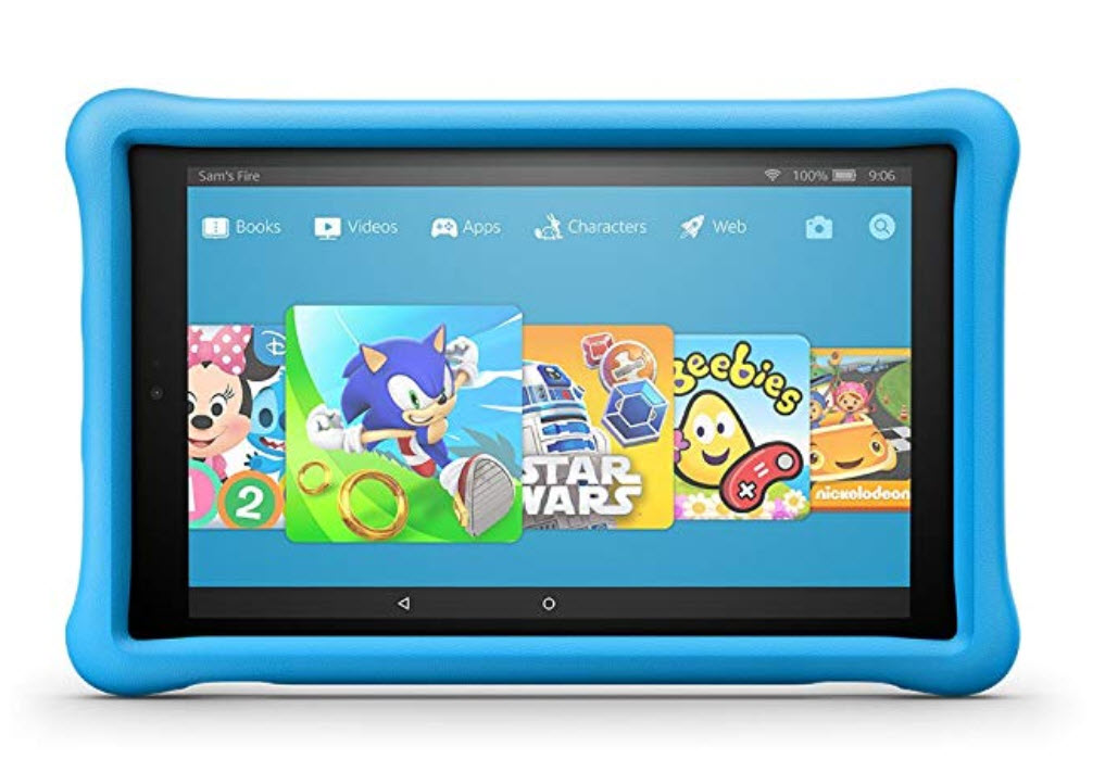 kindle fire kids hd10
