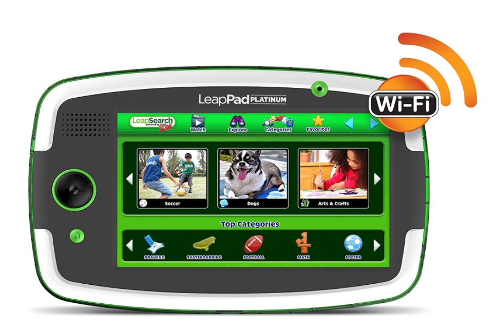 leapfrog platinum top tablets for kids