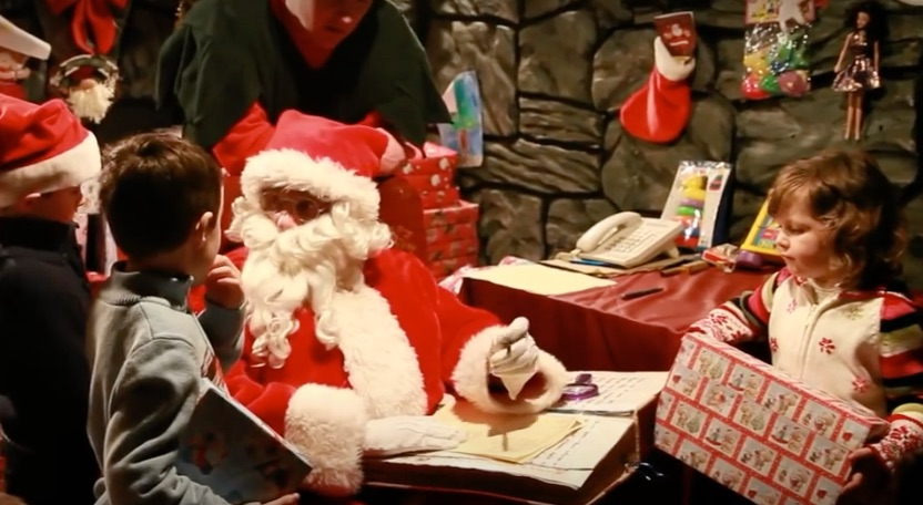 santas sensory christmas workshop at Aillwee Cave