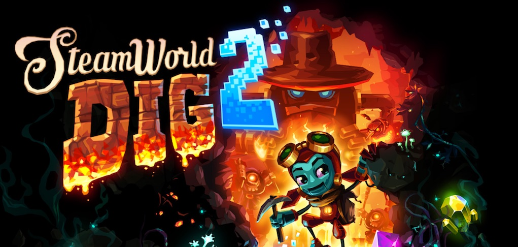 Best Video Games for kids SteamWorld Dig 2