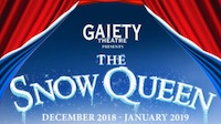 the gaiety panto The Snow Queen