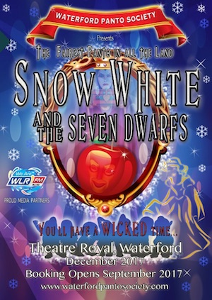 waterford panto society snow white and the seven dwarfs best pantos Ireland