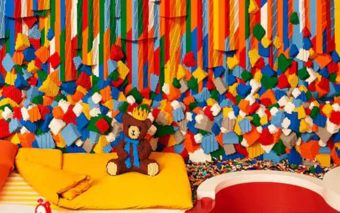 win a night at the lego house