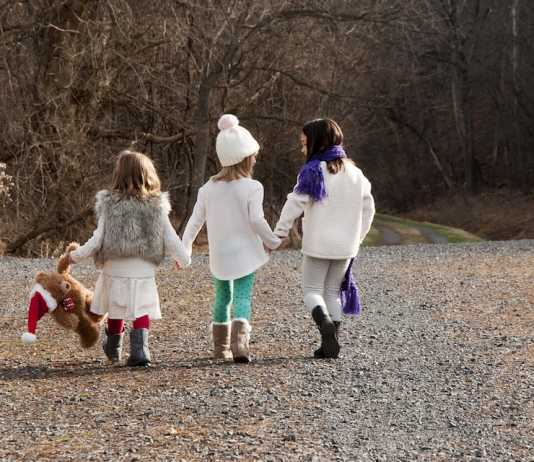 winter walks for families to combat sensory overload