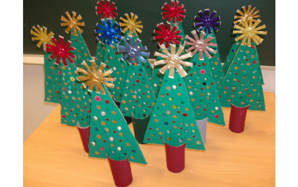 Christmas trees for preschooler Christmas crafts
