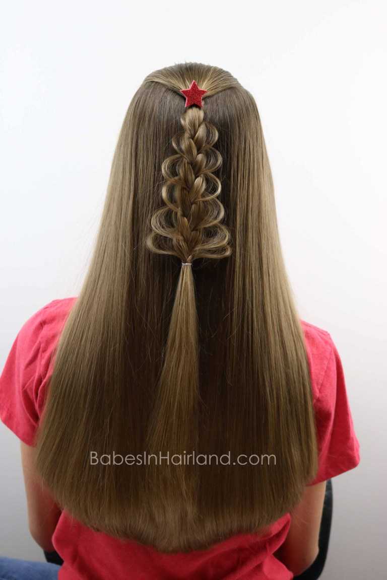 Christmas Hairstyles For Long Hair.6 Cute Christmas Hairstyles Perfect For Celebrating The