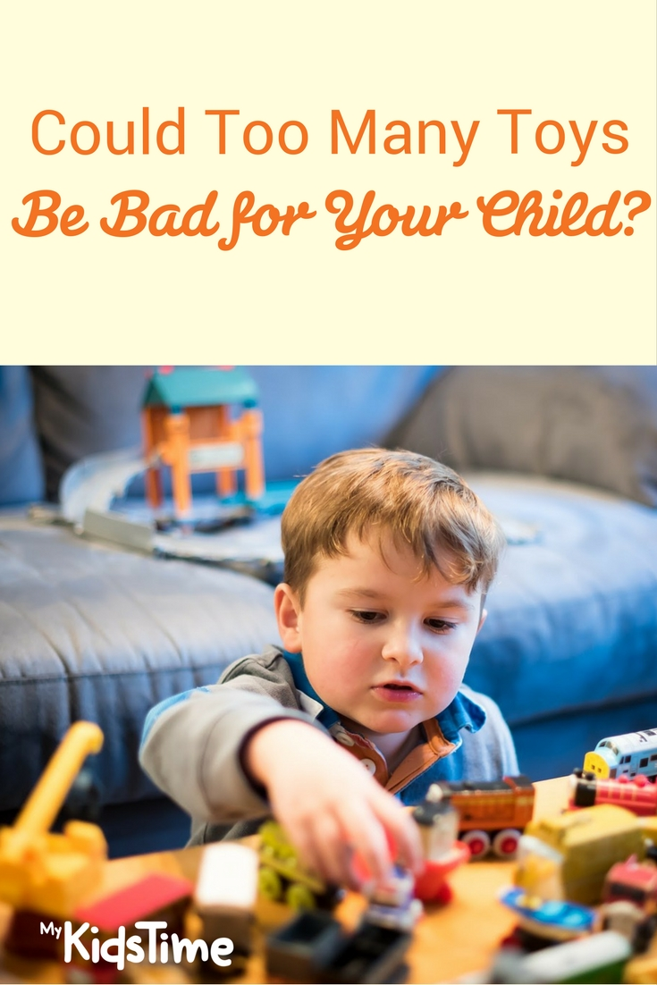 Could Too Many Toys Be Bad For Your Child?