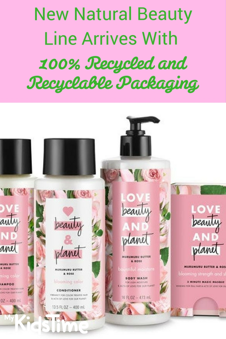 New Natural Beauty Line Arrives With 100 Recycled And Recyclable