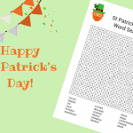 St Patrick's Day wordsearch