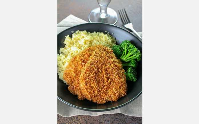 crispy pork chops