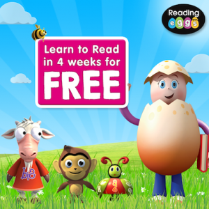 teach your child to read reading eggs trial