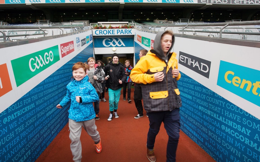 unusual kids party ideas and venues Croke Park