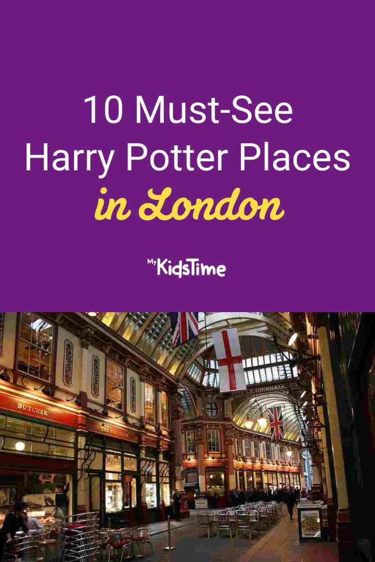 10 Must-See Harry Potter Places in London - Mykidstime