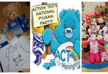 Action Ted's National Pyjama Party