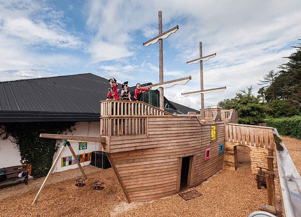 Clonakility Park Hotel Pirate Ship playground best toddler friendly hotels in Ireland