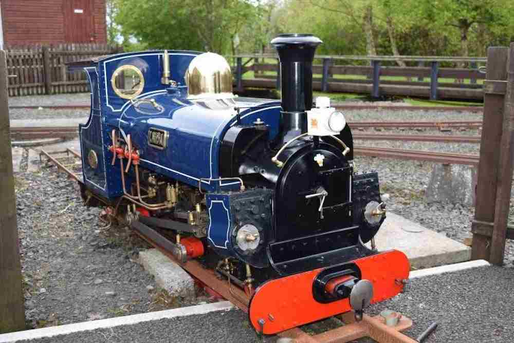 Steam trains and miniature trains in Ireland