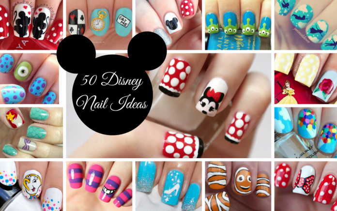 Disney nail ideas