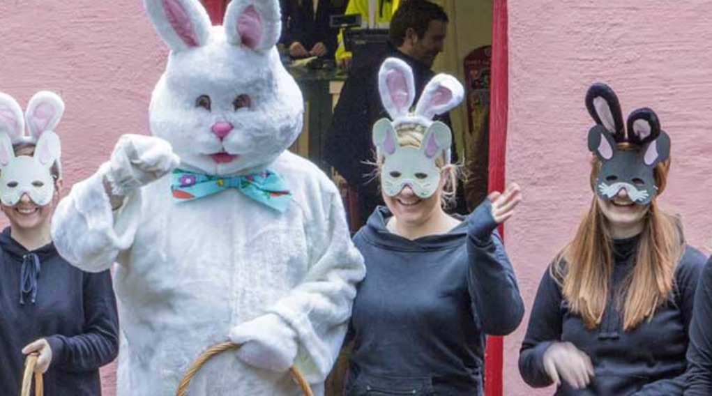 Easter Bunny at Bunratty Castle Things to Do in Ireland