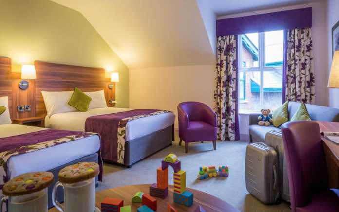 Family friendly hotels in Galway Maldron family bedroom