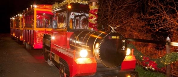santa train amber springs places to visit Santa and stay over in Ireland