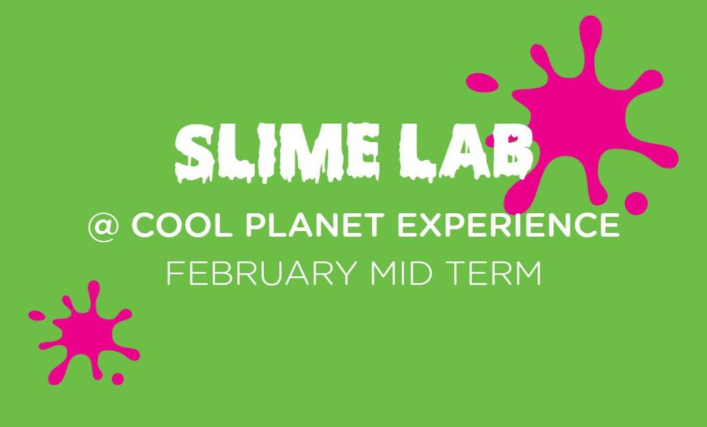 Slime Lab at Cool Planet Experience Feb Midterm