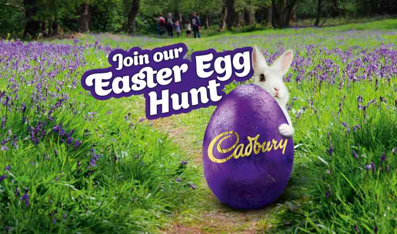 cadbury easter egg hunts