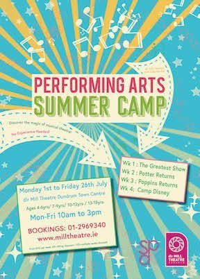 dlr Mill Theater Summer Camps 2019
