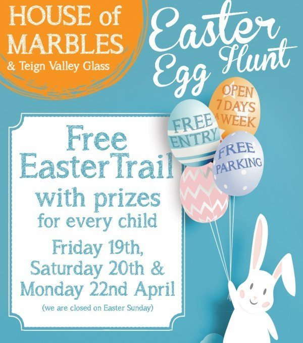 easter egg hunts at house of marbles