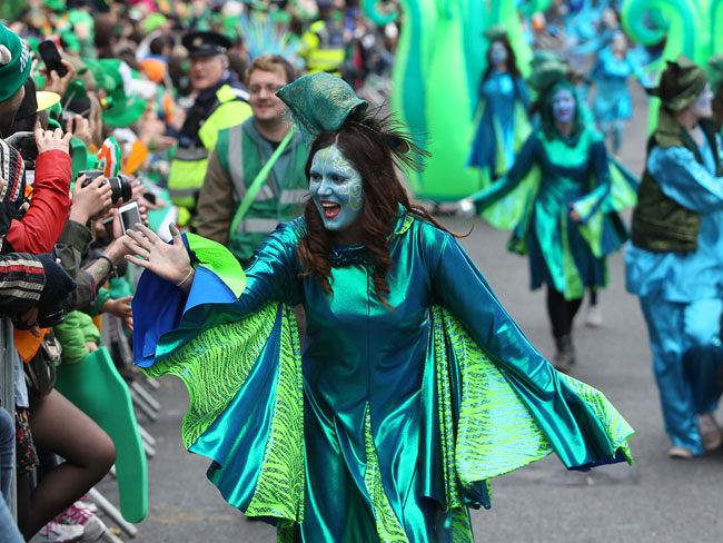 galway st patricks day parade