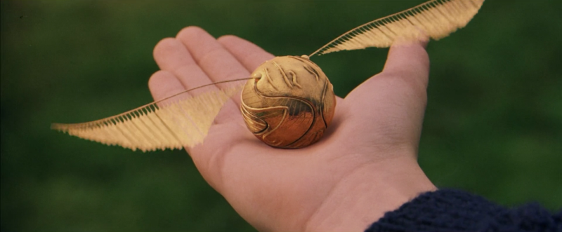 quidditch golden snitch