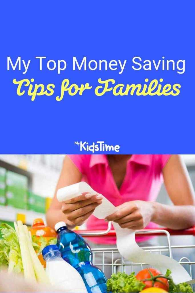 my top money saving tips for families