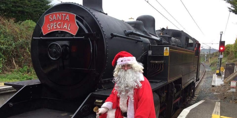 santa specials dublin belfast trains