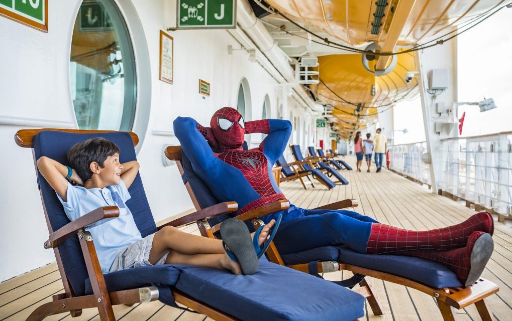 Star Wars and Marvel cruises