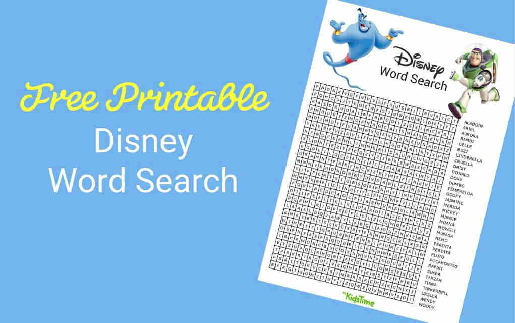 image regarding Disney Word Search Printable titled Are Oneself A Massive Disney Supporter? Down load Your Absolutely free Disney Phrase Seem