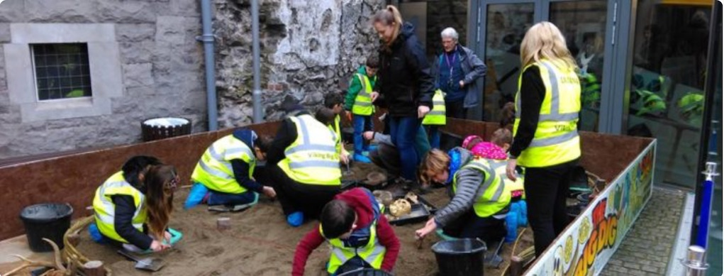 Dublina Easter Events for families The Big Dig