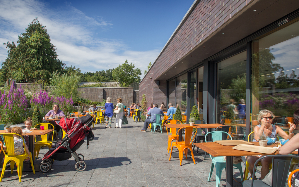 Free things to do in Dublin Happy Pear Cafe at The round tower Clondalkin