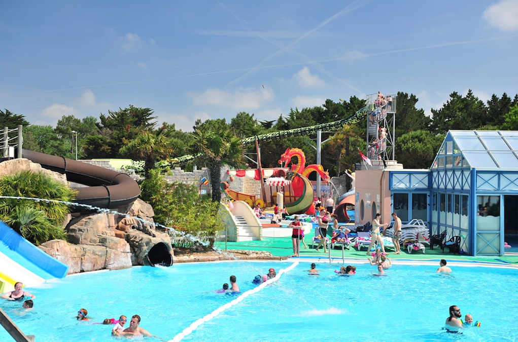 Le Clarys Plage Campotel best family campsites in France