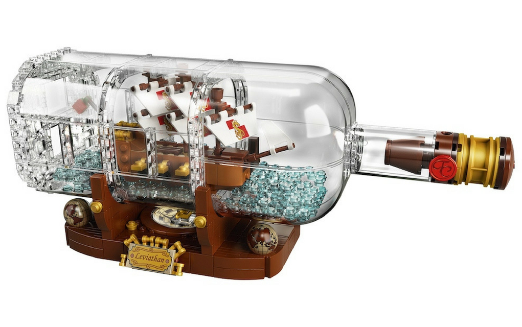 LEGO's Ship in a Bottle set