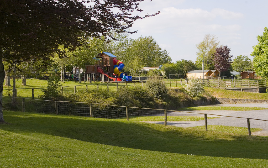 Nore Valley Camping Park Playground and Chalets
