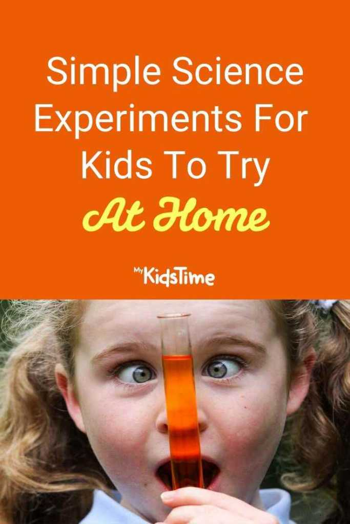 Simple Science Experiments for Kids to Try at Home