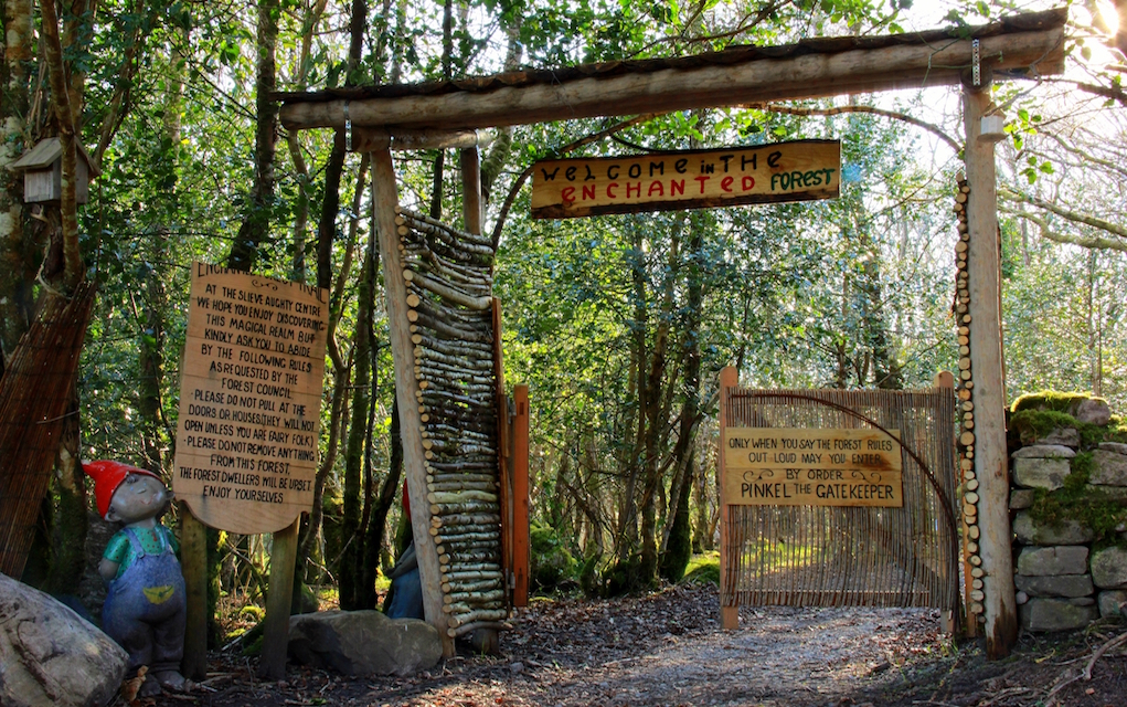Slieve Aughty Centre Enchanted Forest Entrance