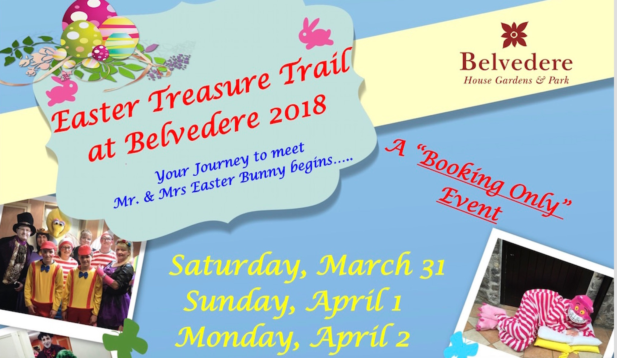 easter at Belvedere House 2018