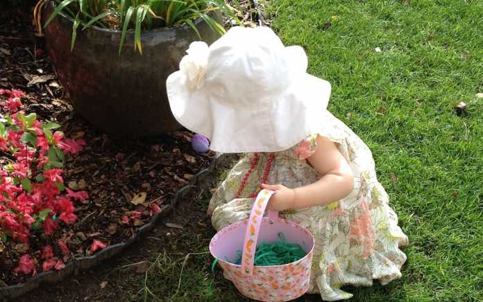 easter egg hunt and places to see the Easter Bunny in Ireland