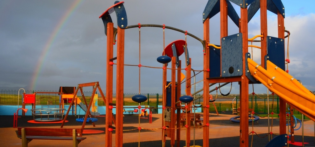 rossbeigh beach playground best playgrounds in Ireland
