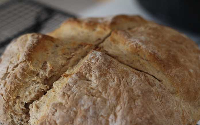 traditional recipe for soda bread