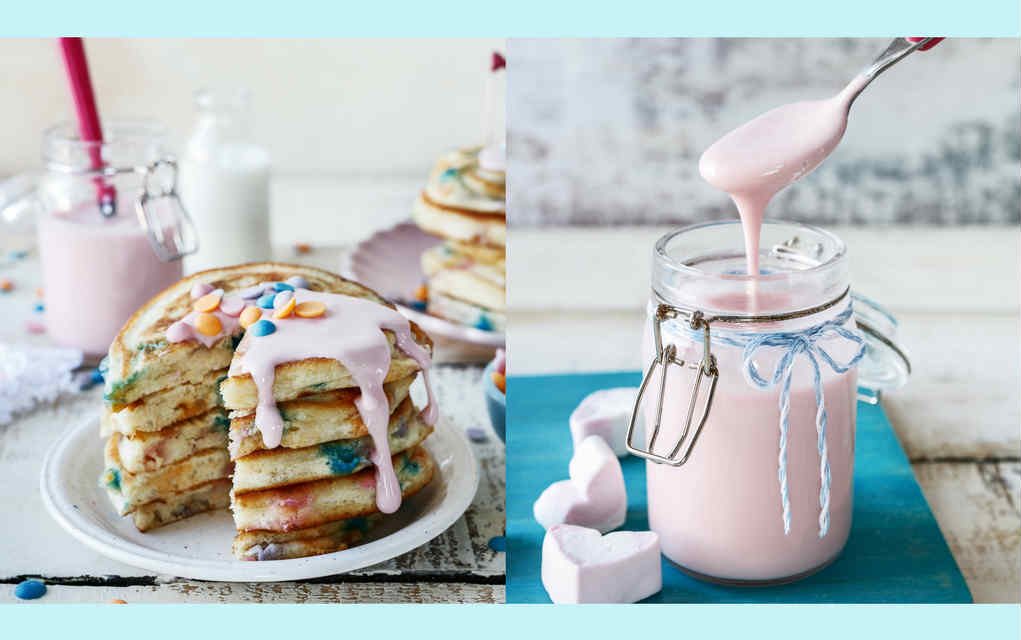unicorn pancakes recipe