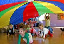 SIMPLE Physical Literacy parachute canopy